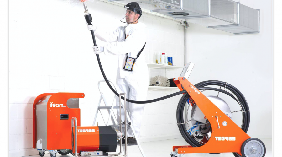 Advances in Horizontal Duct Cleaning – Introducing TEGRAS